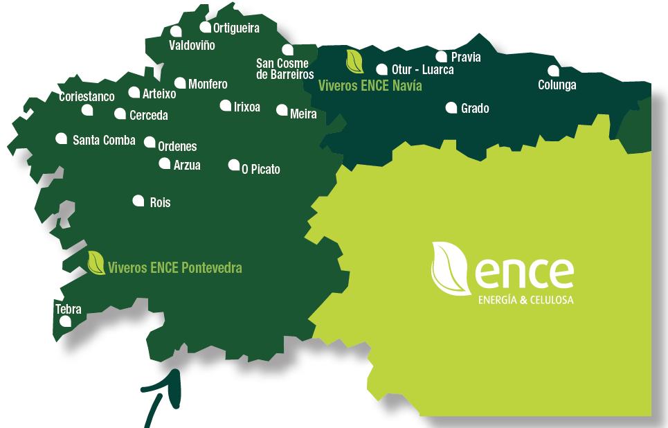 Mapa Localizacion ENCE