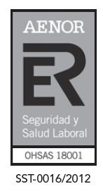 Certificacion AENOR